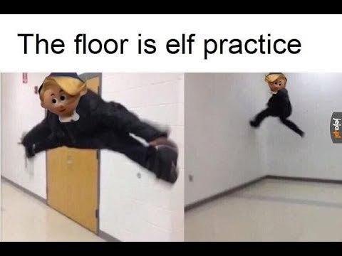 WHY WEREN'T YOU AT ELF PRACTICE? - meme