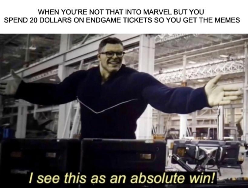 Winning - meme