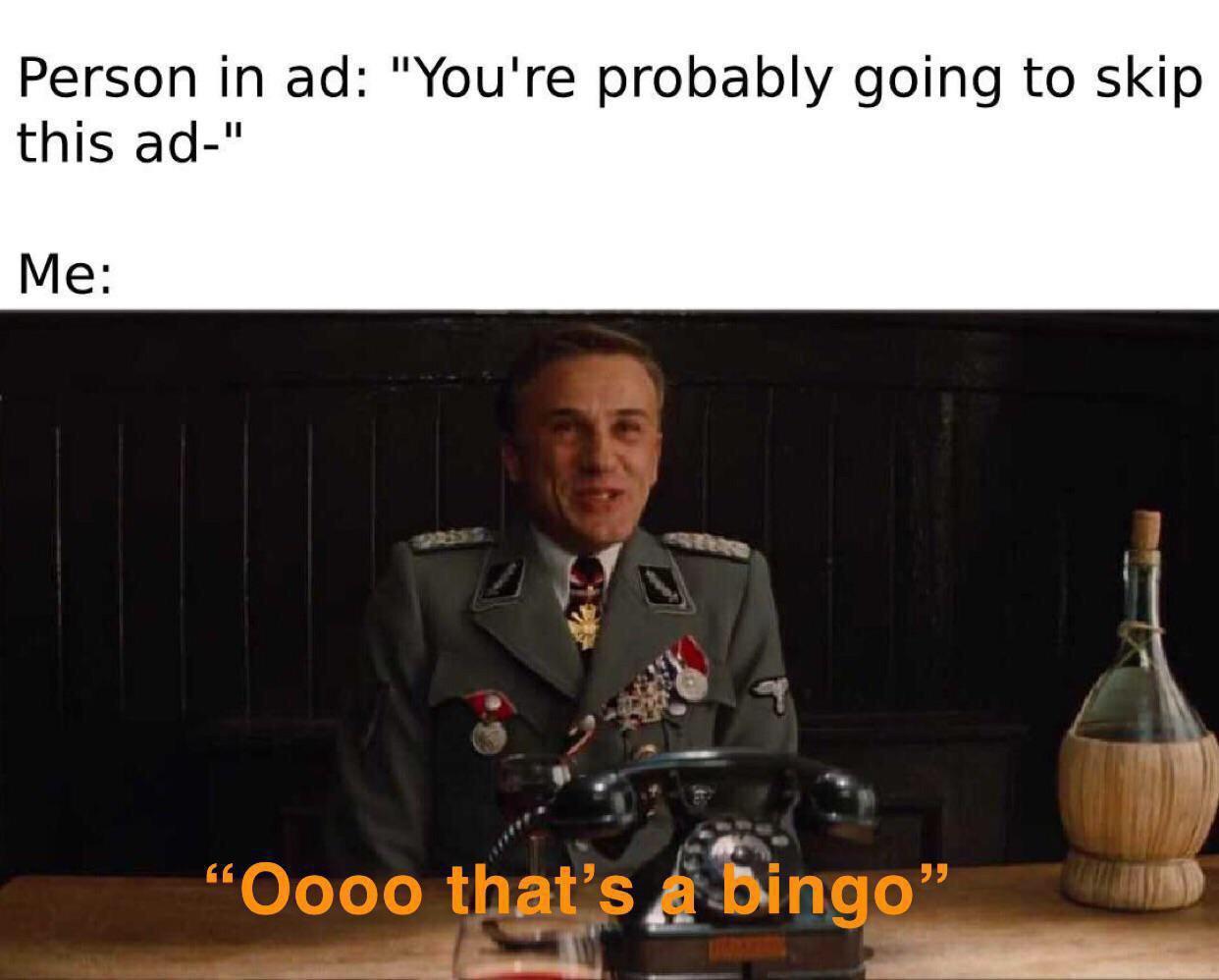 Bingo!! - meme