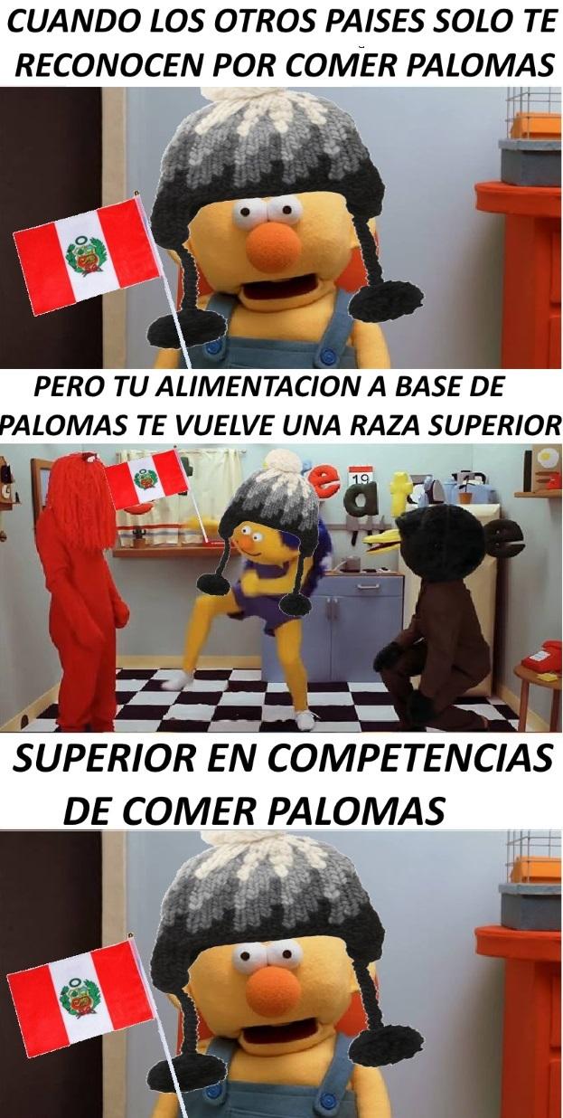 Paloma=superior - meme