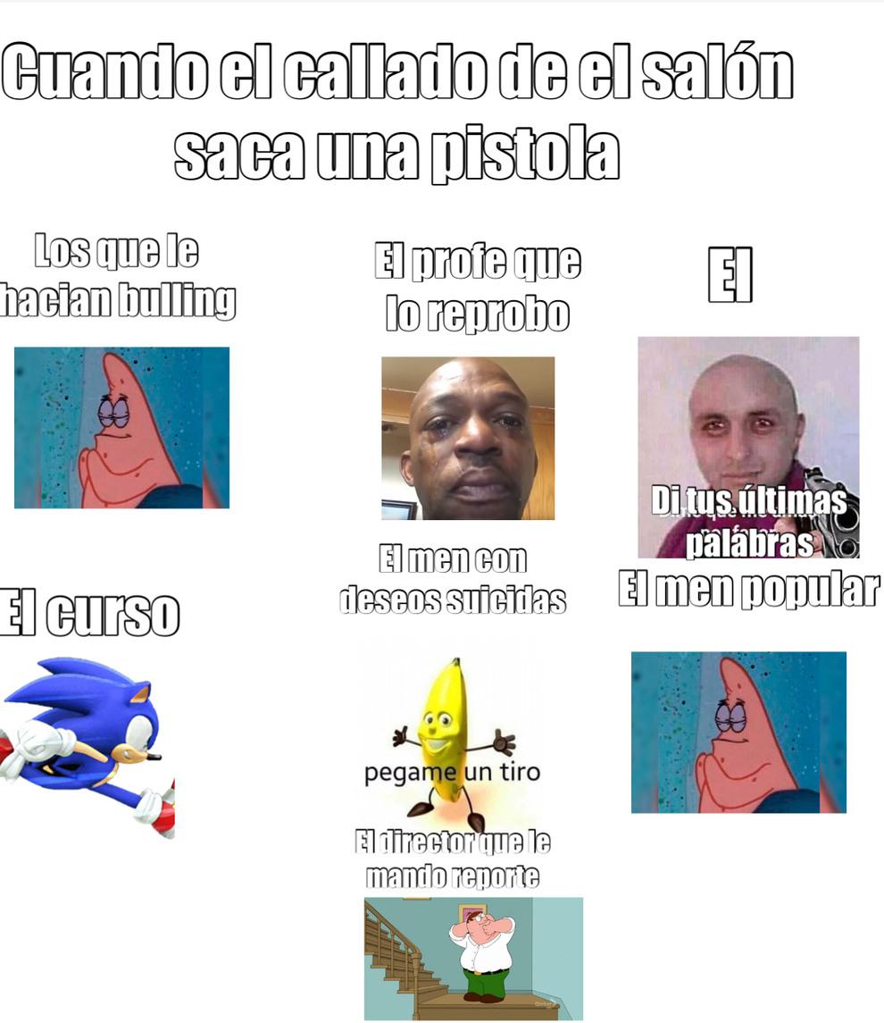 El callado - meme