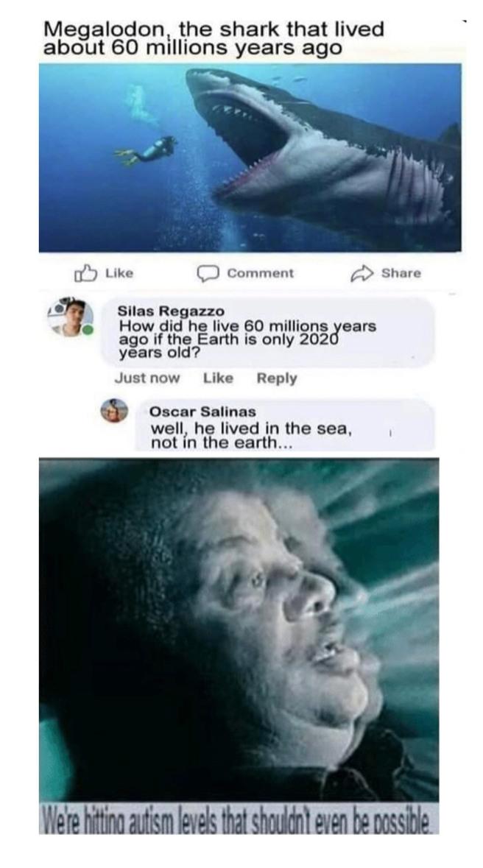 Dumb guy - meme