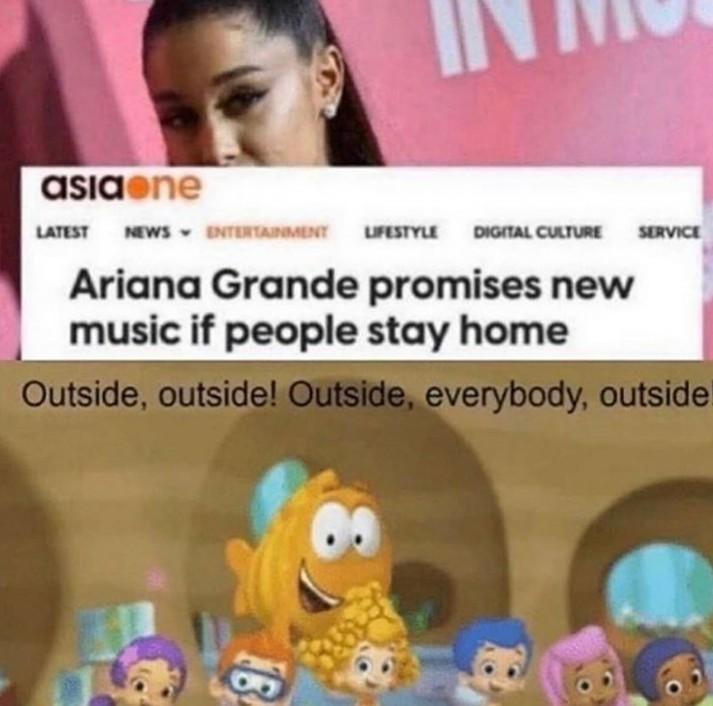 Ariana - meme