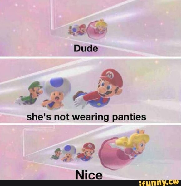 dude shes not wearing panties. nice - meme