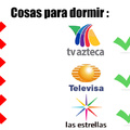 para mi tv azteca es el mejor