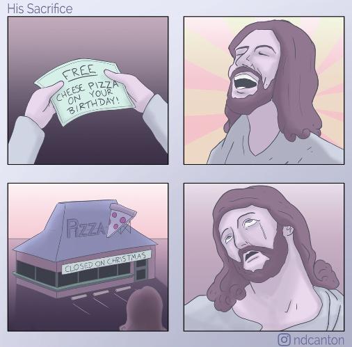 Cheesus Crust - meme