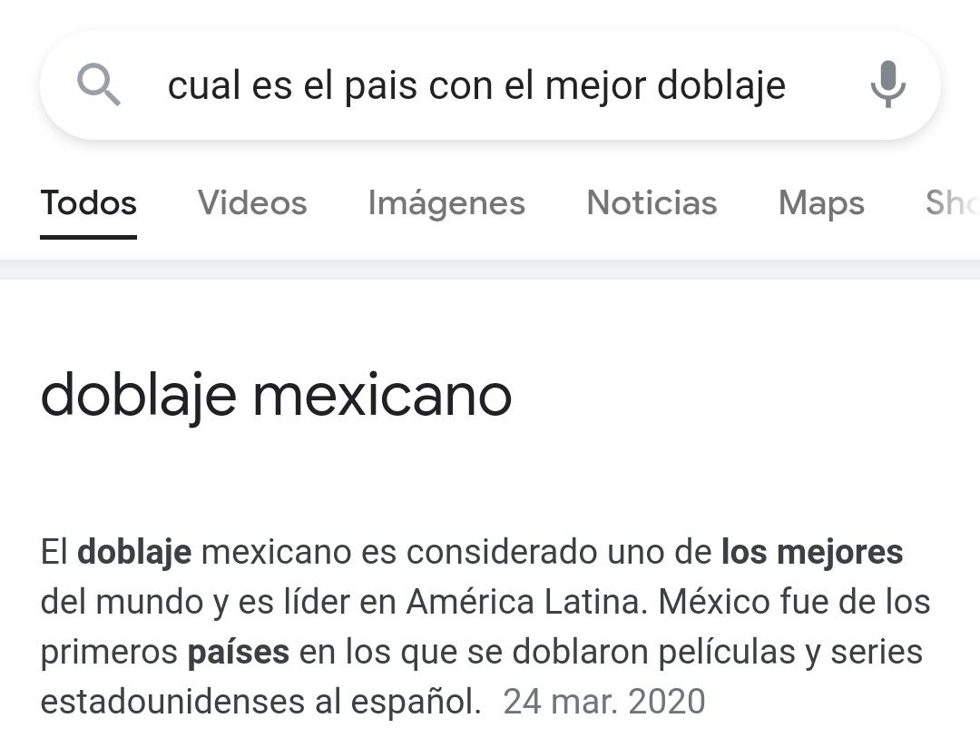 Para los que no sepan acaban de prohibir el doblaje de México por una estupidez - meme