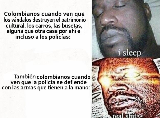 Queda algún colombiano respetable, por ahí? - meme