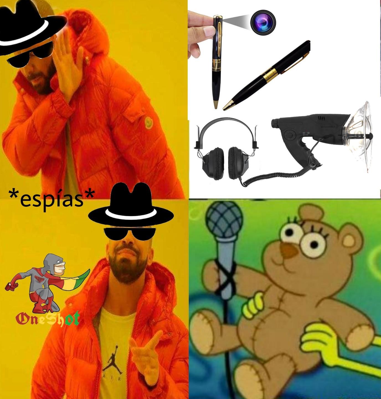 Espionaje moderno - meme