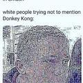donkey kong meme
