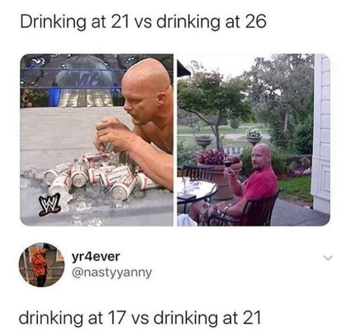 Waz Yallz Drinking Situationz - meme