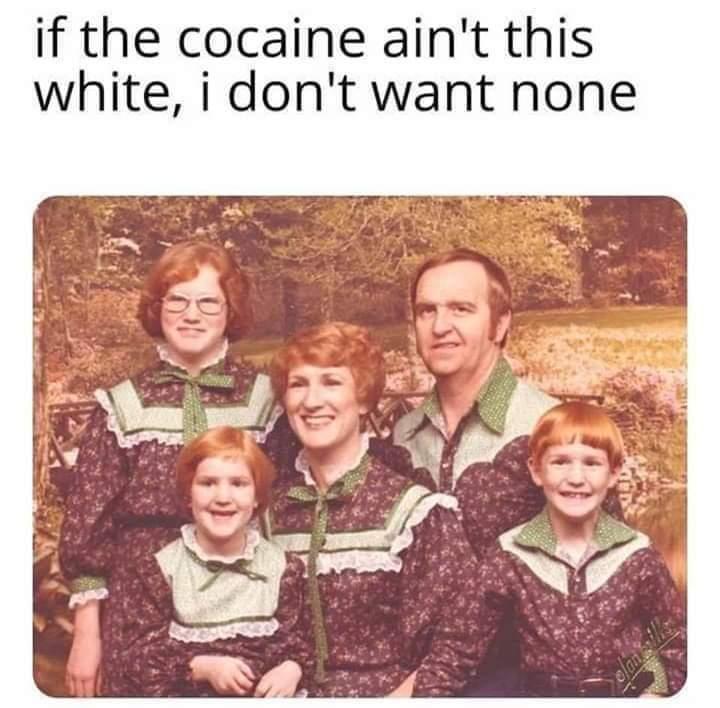White is right - meme
