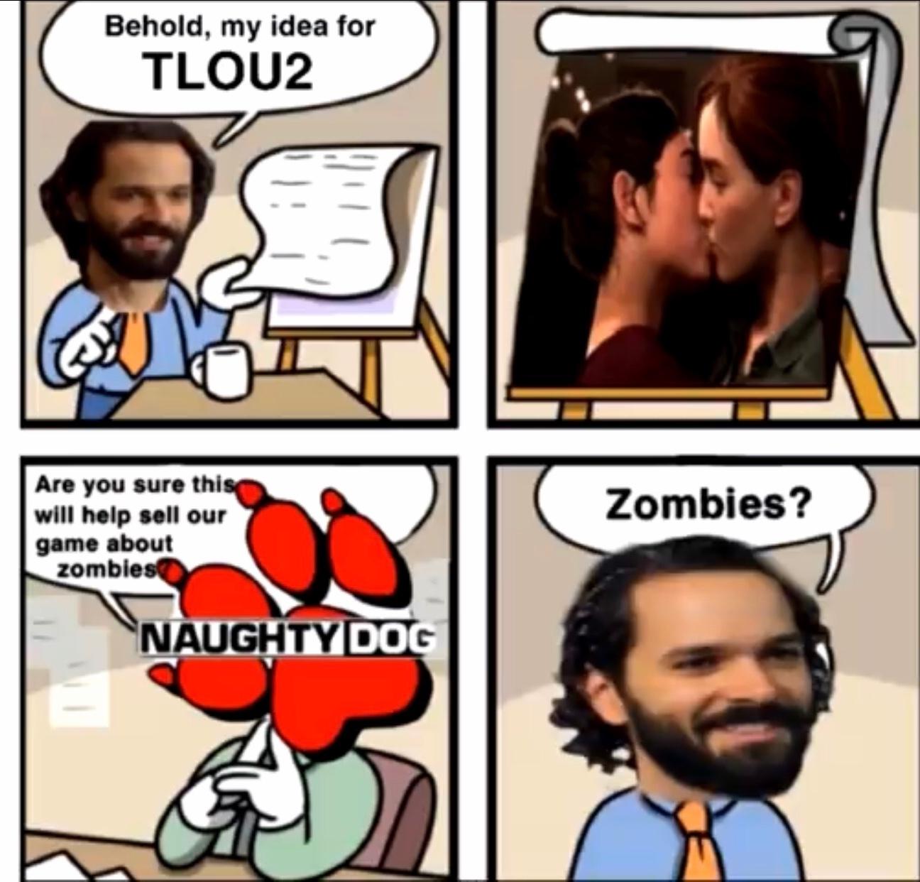 lou2 is shit - meme