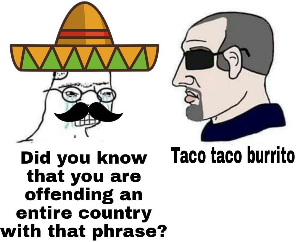 Taco taco burrito - meme
