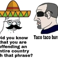 Taco taco burrito