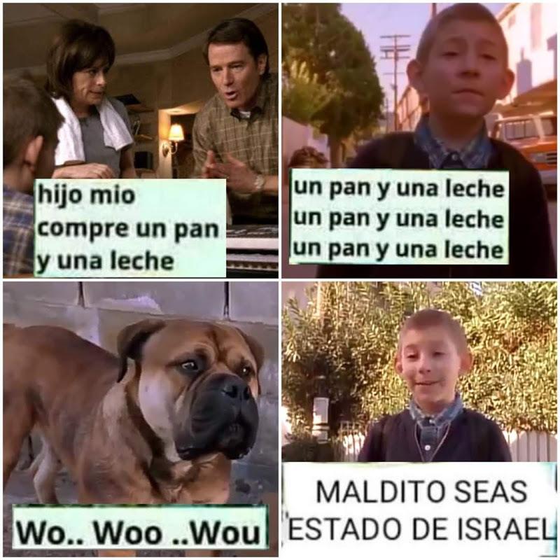 maldito seas estado de israel - meme