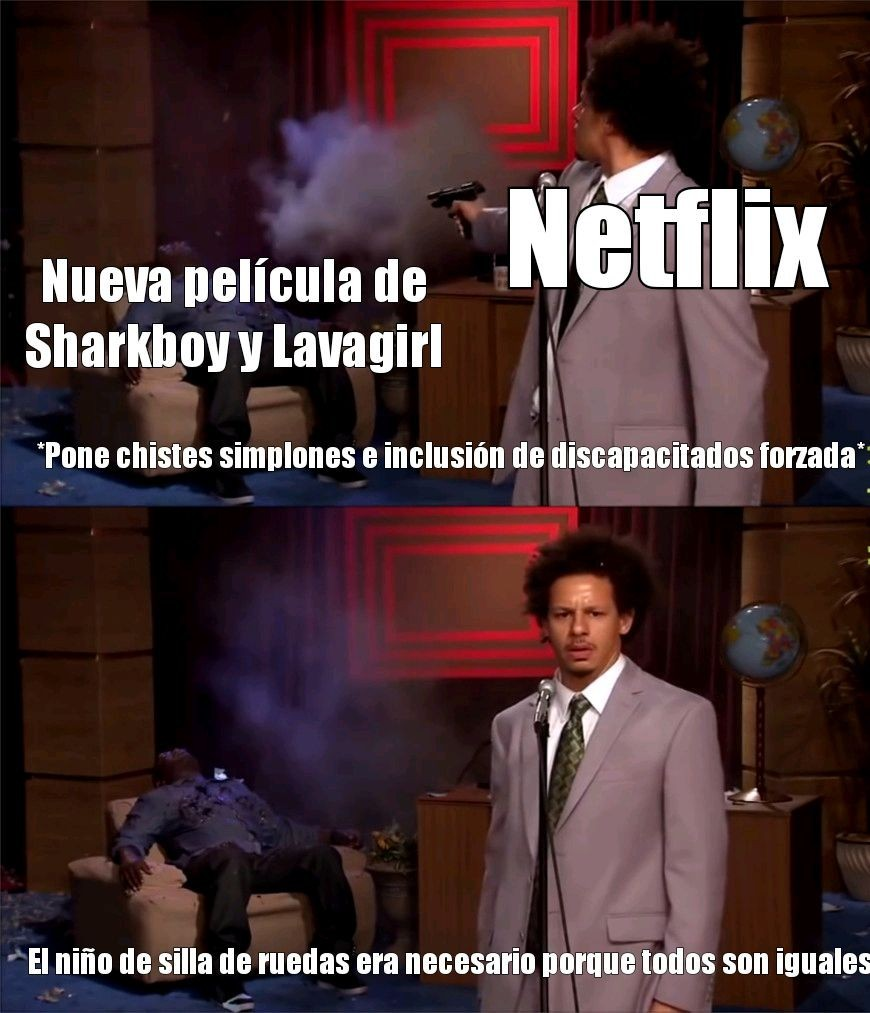 Maldita sea Netflix podría haber sido buena - meme