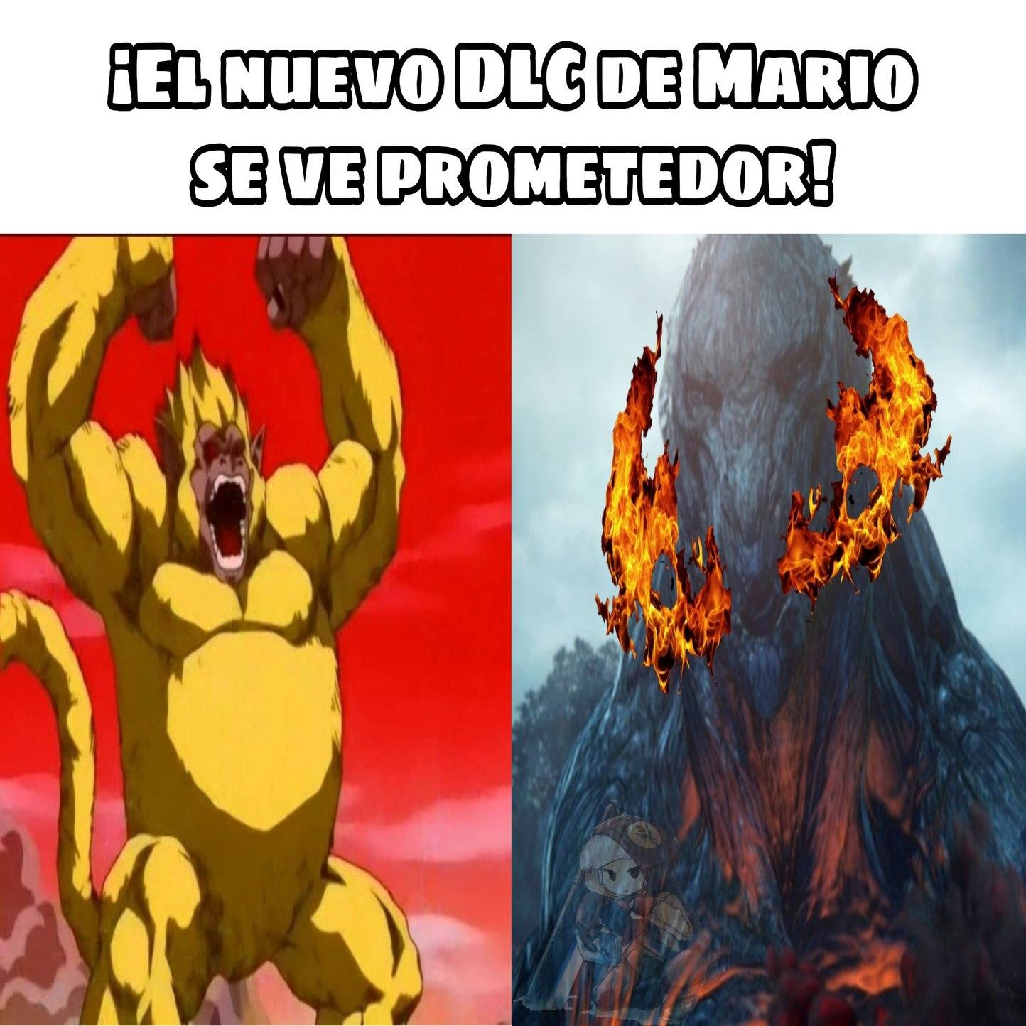 Super Mario Z a vuelto genteeeee - meme