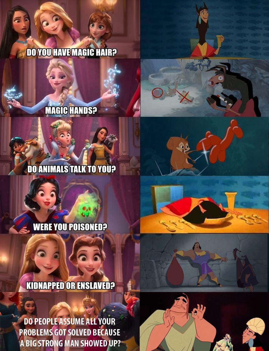 Kuzco is Best Princess - meme