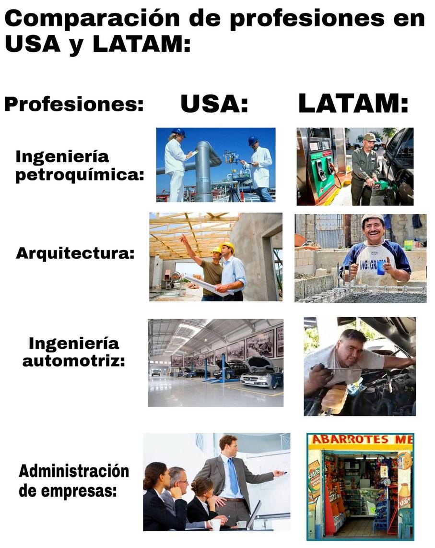 Sáquenme de Latinoamérica!! - meme