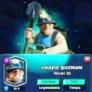el chapo guzman /:soyjaka:\ - meme