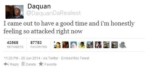It's okay Daquan. *sucks your dick* - meme