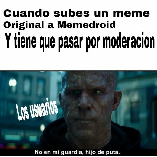 Maldición - meme