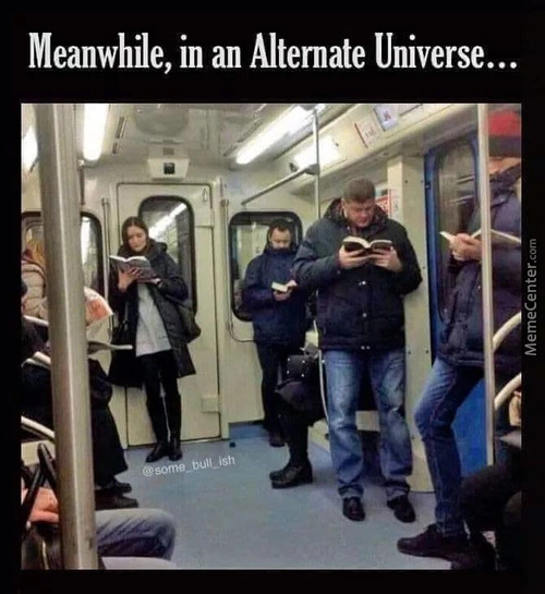 Alternatively in universe - meme