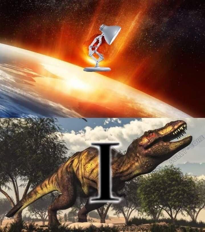 the real Pixar theory - meme