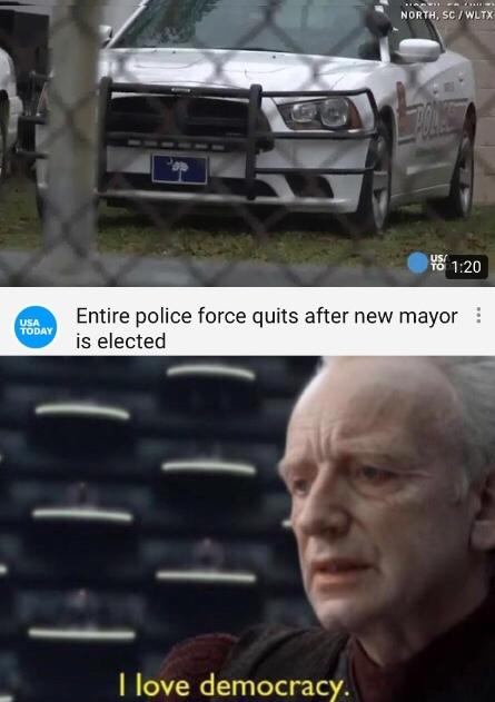 Democracy - meme