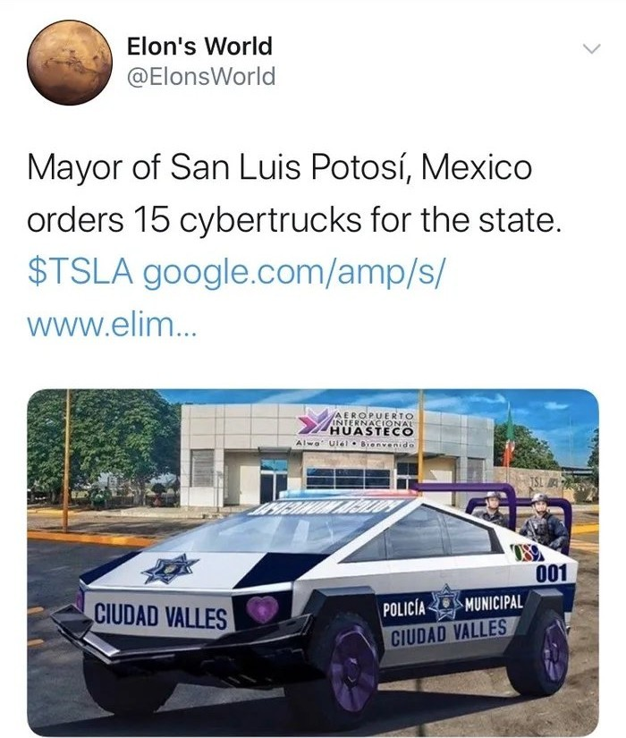 and for Mexico City when? - meme