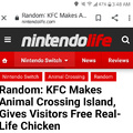 Guess the chickens won't be crossing with the rest of the animals