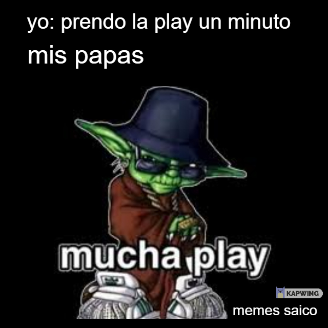 mucha play - meme