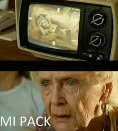 mi pack - meme