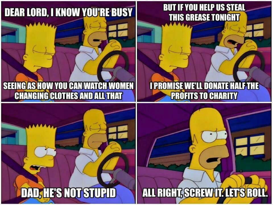Homer is MY role model - meme