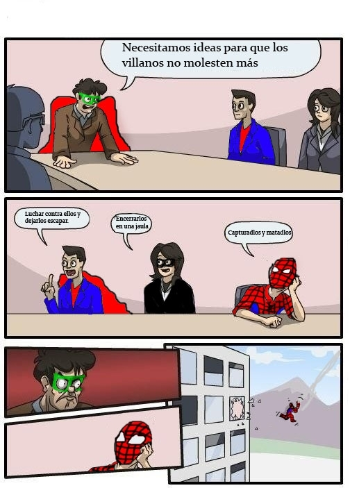 Superheroes - meme