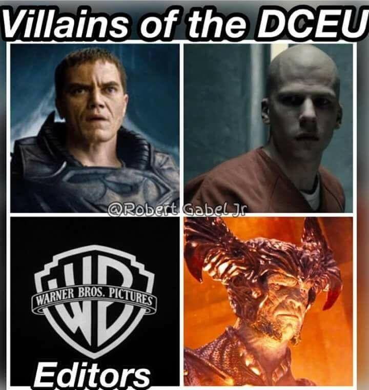the editors really fucked it up. - meme