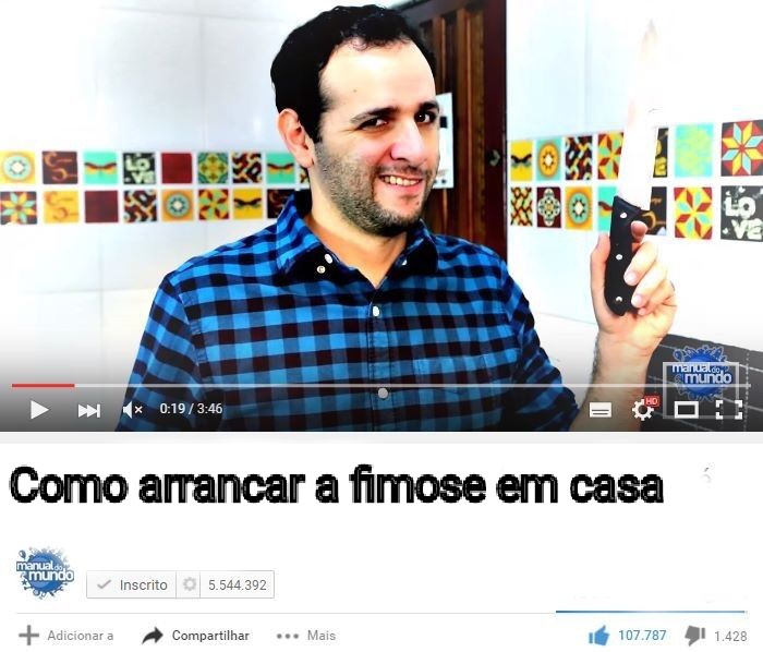 Manual do suicídio - meme