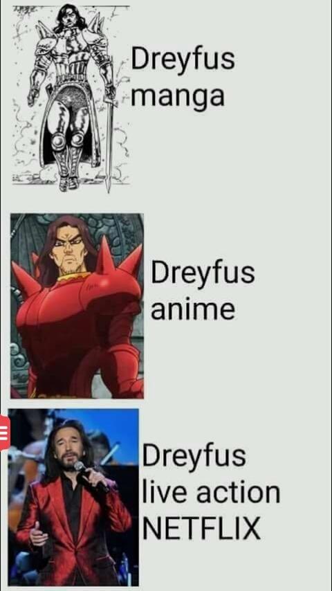 Dreyfus - meme