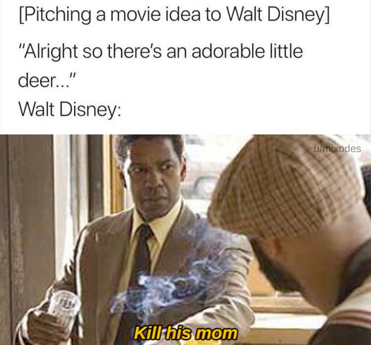 Ok Disney chill out *bruh sound affect 2* - meme