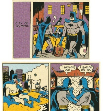 Batloving Dimension - meme