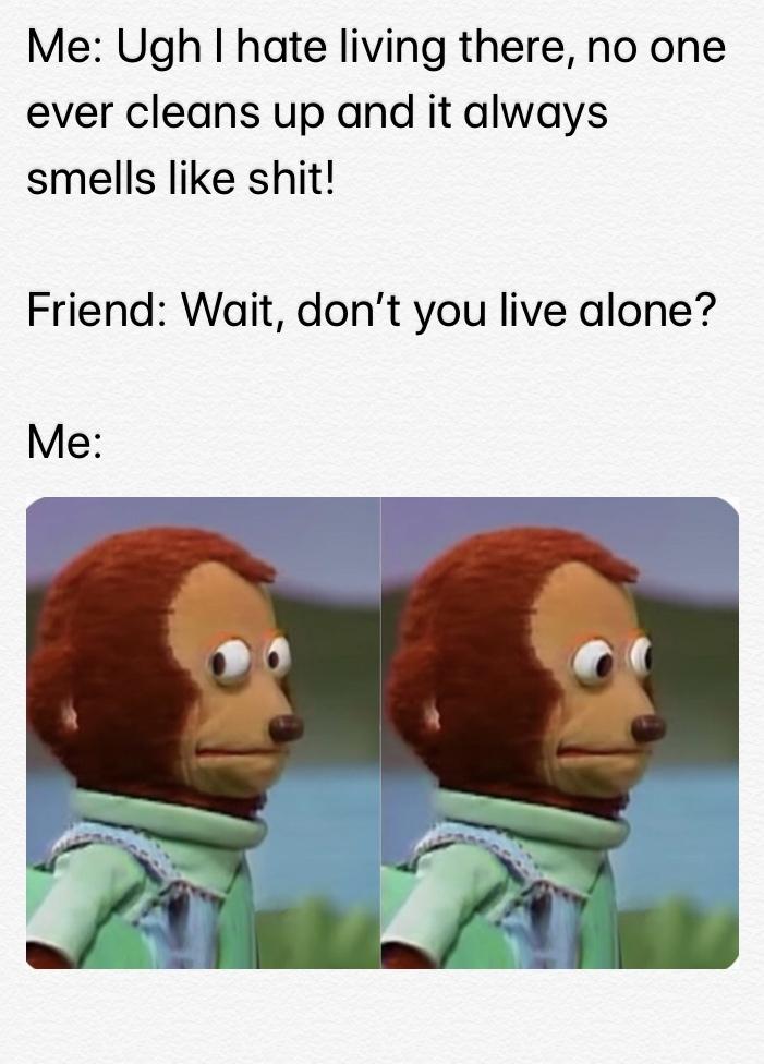 *Looks Away* - meme