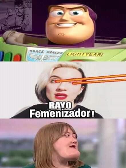Rayo Feminizador! - meme