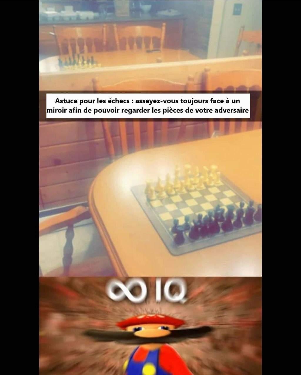 Nouvelle astuce pour battre Magnus Carlsen - meme