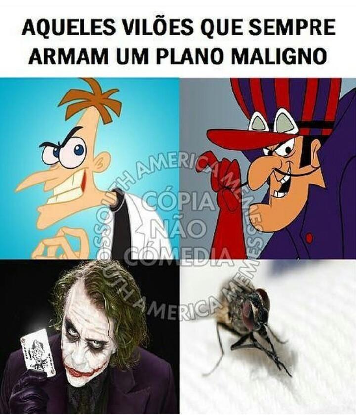 AQUELE PLANO MALIGNO - meme
