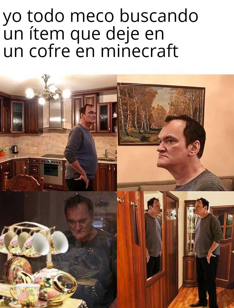 El desorden - meme