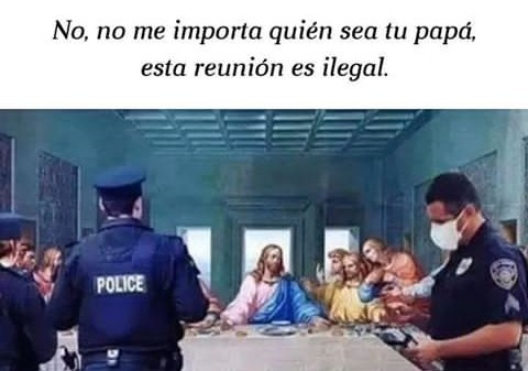 Ni Jesús se salva - meme