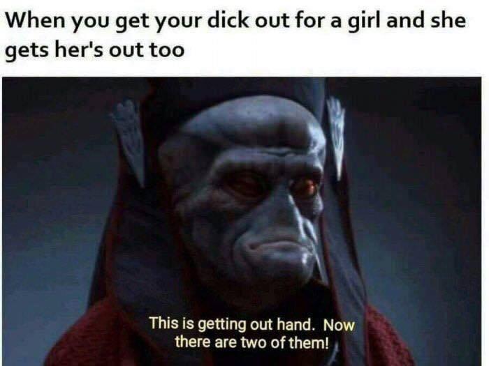 It's a trap - meme
