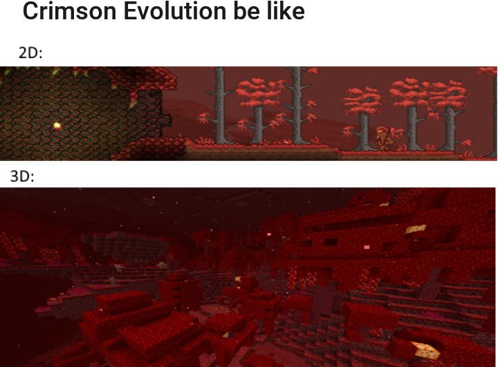 Minecraft 2D - meme