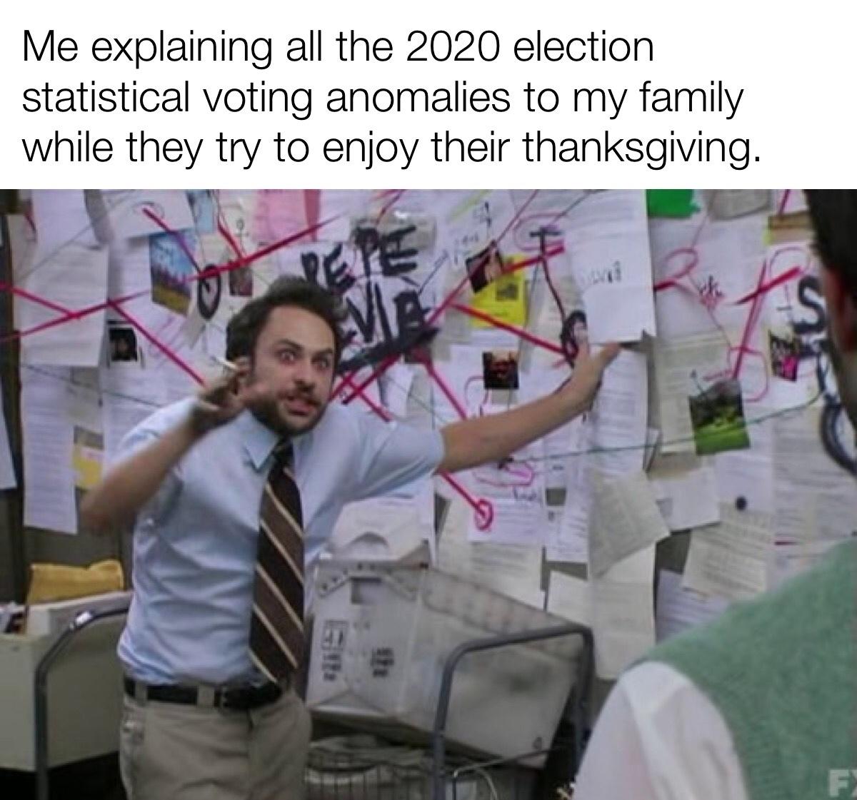 only Helen Keller can't see the evidence - meme